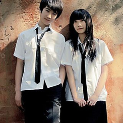 Aiyiruo - Couple Matching School Uniform Party Costume Set