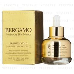 Bergamo - Premium Gold Wrinkle Care Ampoule (For All Skin Types)