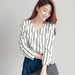 Tokyo Fashion - Striped Blouse