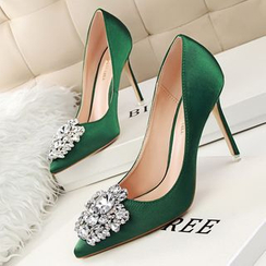 KIMI - Embellished Pointy Pumps