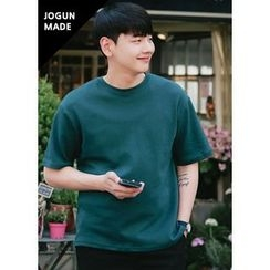 JOGUNSHOP - Short-Sleeve Colored T-Shirt