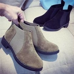 Chryse - Panel Ankle Boots