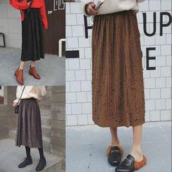 Sienne - Embellished Midi Skirt