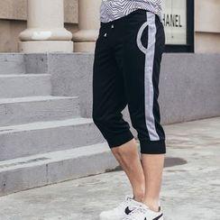 uninukoo - 撞色运动短裤