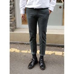 SCOU - Cotton Tapered Pants