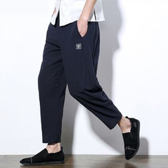 Better Man - Embroidered Harem Pants