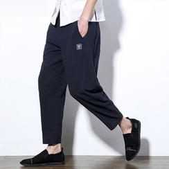 Better Man - 刺绣哈伦裤