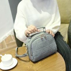 Lamia - Suede Cross Bag