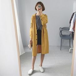 TriStyle - Plain Long Parka