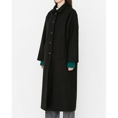 Someday, if - Collared Single-Breasted Coat