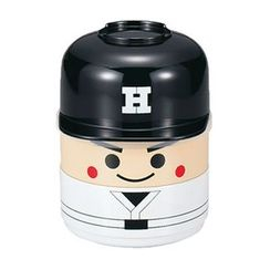 Hakoya - Hakoya Kokeshi 2 Layers Lunch Box Baseball Boy