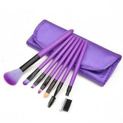 Magic Beauty - Makeup Brush Set (Purple)