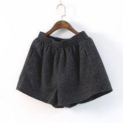 Ranche - Elastic Waist Shorts
