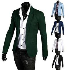 Besto - One-button Blazer