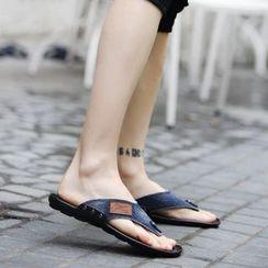 MARTUCCI - Denim Flip-Flops