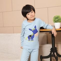 Lullaby - Kids Pajama Set: Top + Pants