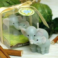 Mulin Arts & Crafts - Elephant Candle
