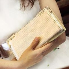 SUOAI - Faux-Leather Clutch