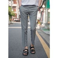GERIO - Flat-Front Pants