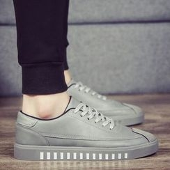 Chariot - Faux-Leather Sneakers