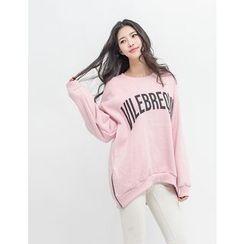 GUMZZI - Lettering Cotton Pullover