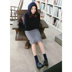 COII - Knit Midi Pencil Skirt
