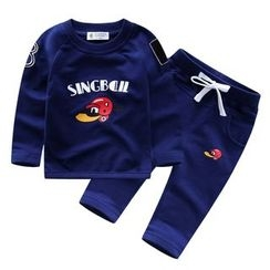 Endymion - Kids Set: Printed Pullover + Sweatpants