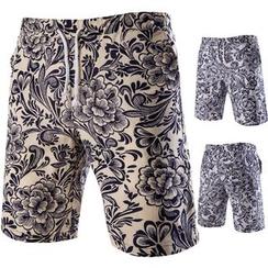 Hansel - 印花短裤