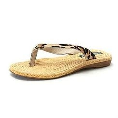MODELSIS - Genuine Calf Hair Flip-Flops