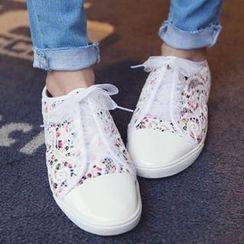 REDOPIN - Floral Print Sneakers