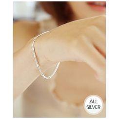Miss21 Korea - Silver Chain Bracelet