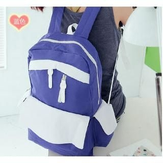 Love Bags - Color-Block Lightweight Backpack