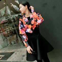 AIGIL - Long-Sleeve Floral Pullover