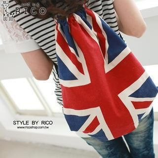 rico - Union Jack-Print Backpack