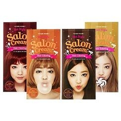 Etude House - Hot Style Salon Cream Hair Coloring (Cherry Red Brown): Hairdye 40g + Oxidizing Agent 60ml + Hair Treatment 10ml