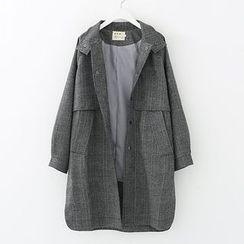 Meimei - 格子长款夹克