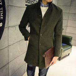 Jimboy - Mandarin Collar Button Coat