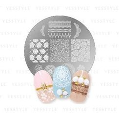 LUCKY TRENDY - Crayon Nail Stamp (Girly Lace)