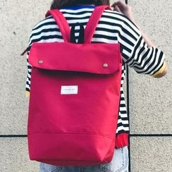 Youme - Plain Oxford Backpack
