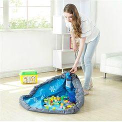 Hagodate - Drawstring Toy Storage Bag / Blanket