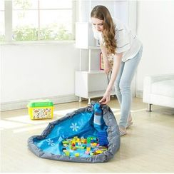 Hagodate - 抽绳玩具收纳袋 /毛毯