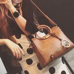 Secret Garden - Faux Leather Hand Bag