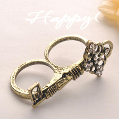 Fit-to-Kill - Double Circle Key Ring