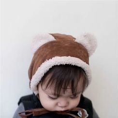 March Daisy - Kids Fleece-Lined Ear Accent Beanie