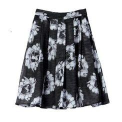 Sentubila - Print A-Line Skirt