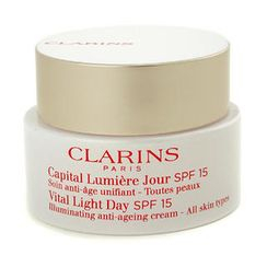 Clarins - Vital Light Day SPF 15 Illuminating Anti-Ageing Cream
