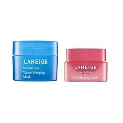 Laneige 蘭芝 - Sleeping Care Kit: Water Sleeping Mask 15ml + Lip Sleeping Mask 3g