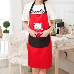 Yulu - 可愛小熊無袖圍裙