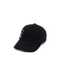Ohkkage - Eyelet-Detailed Baseball Cap