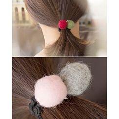 Miss21 Korea - Pompom Elastic Hair Tie